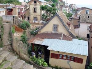 Talo Antananarivon kaupungissa