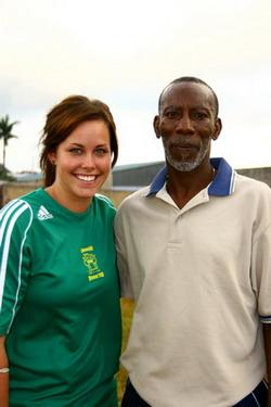 Football coach in Jamaica