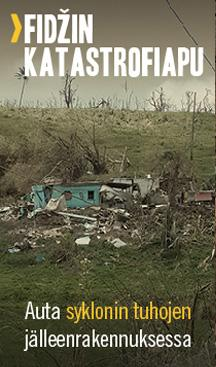 Katastrofiapu Fidžillä