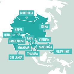 Asien Map