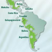 Latinamerika Map