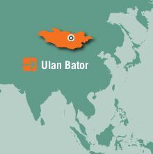 Mongoliet Karta