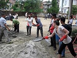 Nepalin maanjäristyksen katastrofiapu