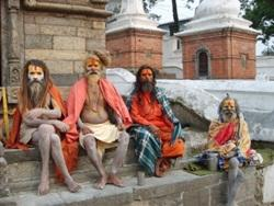 Man in Nepal