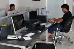 Vapaaehtoiset journalismihankkeessa Samoalla