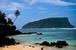 Paratiisiranta Samoalla